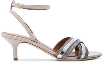 Malone Souliers Malaya cross strap sandals