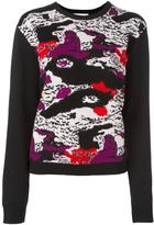 Carven abstract print jumper - women - Wool - M