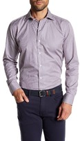 Peter Millar Startford Stripe Long Sleeve Tailored Fit Shirt