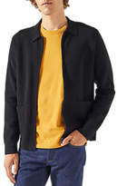 Jigsaw Zip Jacket, Graphite