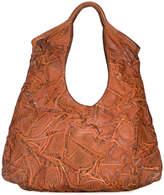 Numero 10 creased effect shoulder bag