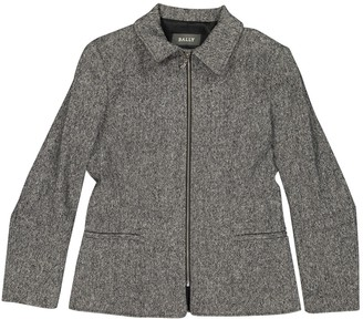 Bally Grey Wool Jackets