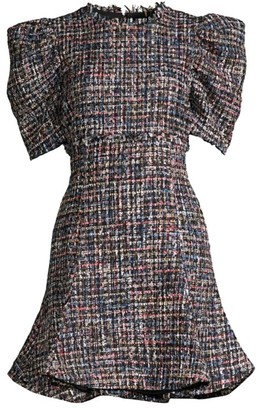 LIKELY Alia Multi-Tweed Dress