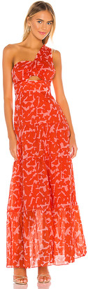 Karina Grimaldi Lola Print Dress