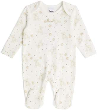 Harrods Cotton Bear Print All-In-One
