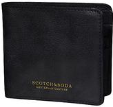 Scotch & Soda Leather Flip Open Wallet