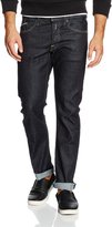 Replay Men's Waitom Forever Dark Regular Slim Fit Jeans 38/34 blue