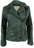 Lucky Brand Women's Leather Moto Jacket