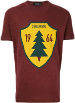 DSQUARED2 sign print T-shirt - men - Cotton/Viscose - XS