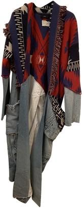 Alanui Red Cashmere Jackets