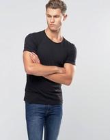 Benetton Slub Neck T-Shirt