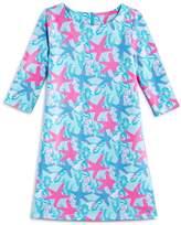 Vineyard Vines Girls' Starfish Shell Knit Dress