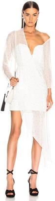 Mason by Michelle Mason Bustier Off Shoulder Dress in Ivory | FWRD
