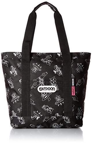 Outdoor Products (アウトドア プロダクツ) - [アウトドアプロダクツ] OUTDOOR & repimaru レピ丸 コラボトートバッグ RM103 クロ