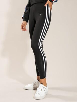 adidas 3-Stripes Tights in Black