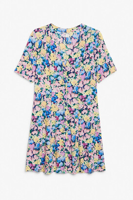 Monki Retro skater dress