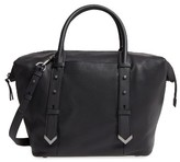 Mackage Doc Leather Satchel - Black