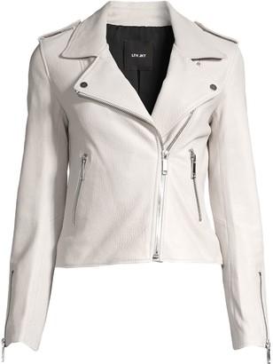 LTH JKT Kas Modern Leather Biker Jacket
