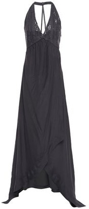 Brunello Cucinelli Sequin-embellished Silk-chiffon And Cotton-blend Gown