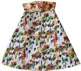 Stella Jean White Cotton Dress for Women