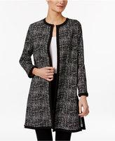 Alfani Long Jacquard Jacket, Only at Macy's