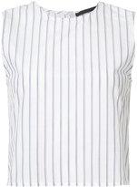 Jenni Kayne back buttoned striped blouse - women - Silk/Cotton - S