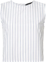 Jenni Kayne back buttoned striped blouse - women - Silk/Cotton - XS