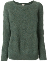 Massimo Alba diamond effect jumper