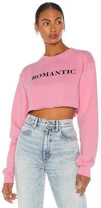 DEPARTURE x REVOLVE Romantic Cropped Sweatshirt