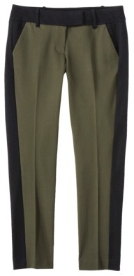 Mossimo Women's Tailored Stretch Ankle Pant - Purple Green