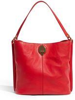 Karen Millen Slouchy Leather Shoulder Bag