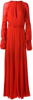 Giambattista Valli frill sleeve gown - women - Silk/Cotton/Viscose - 42