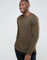 Asos Sweatshirt In Khaki