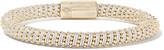 Carolina Bucci Twister 18-karat Gold-plated Silk Bracelet