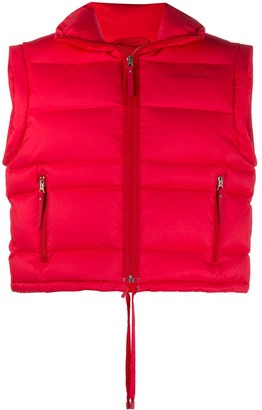 Acne Studios Padded Funnel Neck Gilet