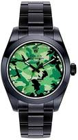 Bamford Watch Department Rolex Milgauss camouflage oyster perpetual watch