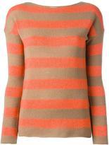 Etro striped jumper - women - Viscose/Cashmere/Wool - 46