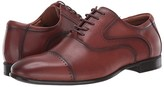 Steve Madden Lowkey Oxford (Cognac Leather) Men's Shoes