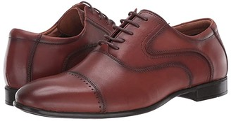Steve Madden Lowkey Oxford (Cognac Leather) Men's Shoes