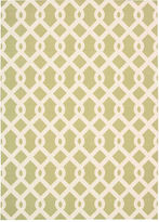 Waverly Ellis Lattice Indoor/Outdoor Rectangular Rug