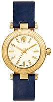 Tory Burch Classic T 36mm Goldtone Leather Strap Watch