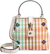 Kate Spade Remedy Bella Plaid Small Top Handle Satchel