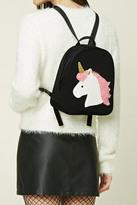 Forever 21 FOREVER 21+ Unicorn Graphic Mini Backpack
