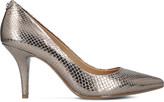 MICHAEL Michael Kors Flex snakeskin leather courts