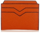 Valextra Grained-leather Cardholder