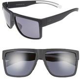 adidas Women's 3Matic 60Mm Sunglasses - Black Matte/ Grey