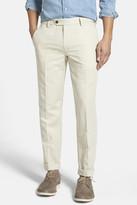 Bonobos Slim Fit Cotton & Linen Trousers