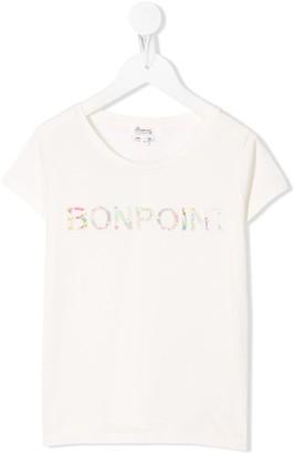 Bonpoint graphic logo-print T-shirt