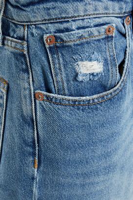 Rag & Bone Rosa Distressed Mid-rise Kick-flare Jeans
