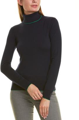 Piazza Sempione Turtleneck Wool-Blend Sweater